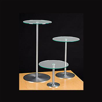 Brushed Chrome Risers – Green Edge