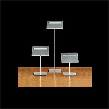 Shoe Risers for Pairs – Silver