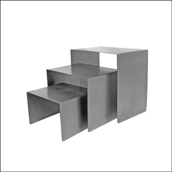 Cube Set / Raw Steel
