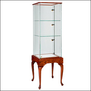 "Classic Royal Line 73"" Tall Glass on Glass Tower - Multiple Finish Options"