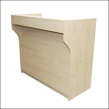 Economy Ledge Top Counter - Multiple sizes and finishes