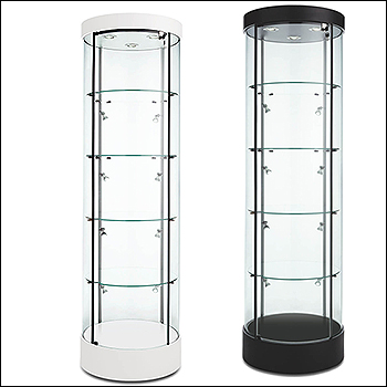 Euro Circular Tower Showcase - Multiple Finish Options