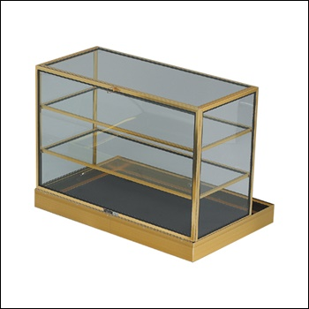 Portable Shelved Display Case 34