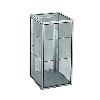Portable Glass Tower Display 16