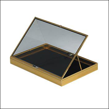 Portable Display Case Long Hinged 34
