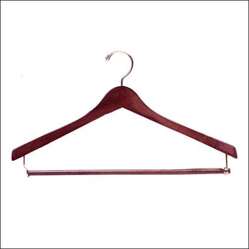 """17"""" Wooden Suit Hanger (100ct.)"""