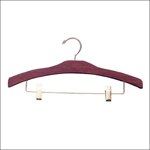 "16"" Decorative Pant & Skirt Wooden Hanger (100ct.)"