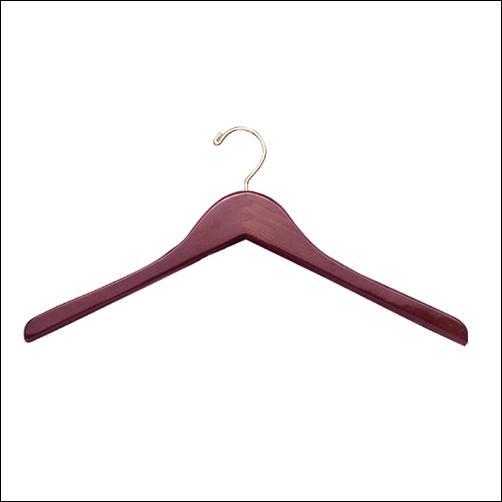 """17"""" Wooden Jacket Hanger (100ct.)"""