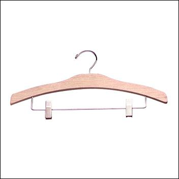 "16"" Decorative Pant & Skirt Wooden Hanger (100ct.)"
