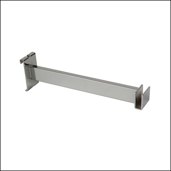"12""L Hangrail Bracket to Hold Rectangular Tubing"