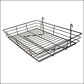 "24""W x 15""D x 4-1/2""H Basket (1/4 - wire)"