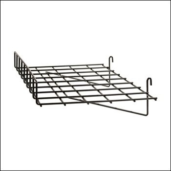 "24""L x 15""D Straight Shelf w/ Front Lip (1/4 - wire)"
