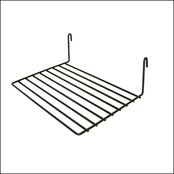 "8""D x 12""L Straight Shelf (1/8 - wire)"