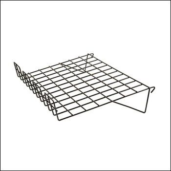"14""D x 22-1/2""L Sloping Shelf w/ 3"" Lip (1/8 - wire)"