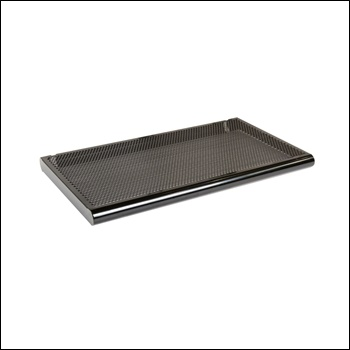 "Straight Shelf w/ Bullnose - 23""W x 15""D - Steel"