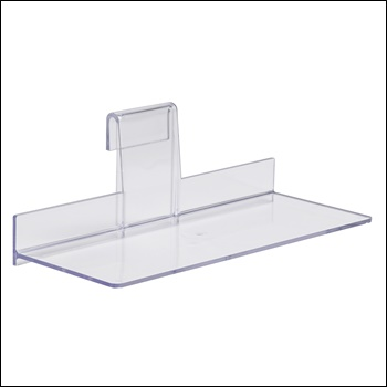 "4"" x 10"" Injection Molded Styrene Shoe Shelf"