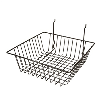 """12""""W x 12""""D x 4""""H Small Basket - Set of 6 - Multiple Finish Options"""