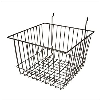 "12""W x 12""D x 8""H Deep Basket - Set of 6 - Multiple Finish Options"