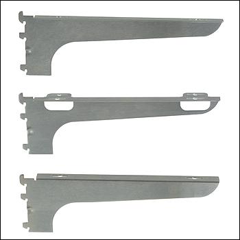 Wood Shelf Bracket for Universal Standards - Left, Right and Center