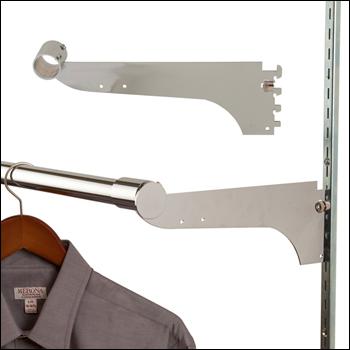 "12"" Round Tubing Hangrail Bracket for Universal Standards"