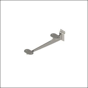 Heavy Duty Slatwall Urban Bracket - For Glass or Wood Shelves