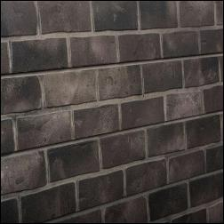 Designer Retail Gray Brick Slatwall