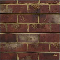 Designer Retail Red Brick Slatwall