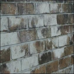 Old Painted Sandstone Brick Slatwall Panel