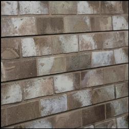 Designer Retail Taupe Brick Slatwall