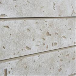 Bleached Cement / Concrete Slatwall