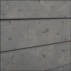 Natural Cement / Concrete Slatwall