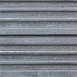 Corrugated Galvanized Metal Slatwall