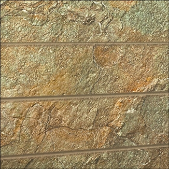 Oxidized Slate Textured Slatwall Panel