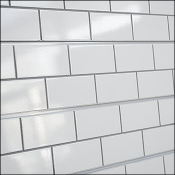 Subway Tiles Slatwall Panel - Multiple Color Options