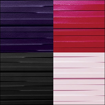 Weave Pattern Textured Slatwall - Multiple Color Options