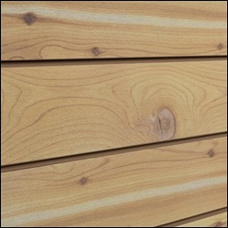 Natural Cedar Grain MDF Slatwall