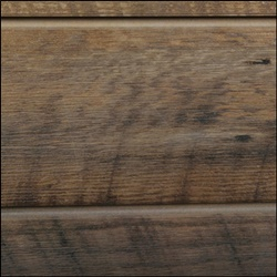 Oak Sawtooth Grained Slatwall - Warm