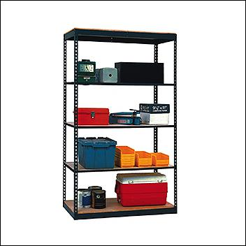 Steel Shelving 7'H