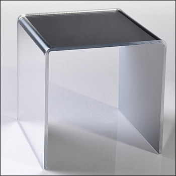 Acrylic Mirror Risers - Multiple Size Options