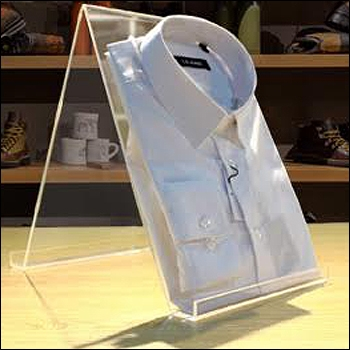 Acrylic Shirt Display Easel