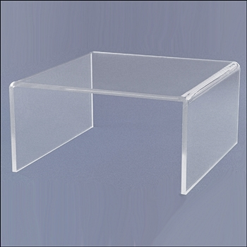 Standard SHORT Acrylic Risers - Multi Sizes