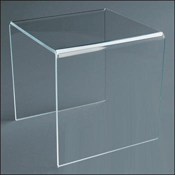 Standard SQUARE Acrylic Riser - Multiple Sizes