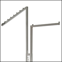 2 way square tubing arms