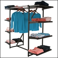 8 shelf combo rack