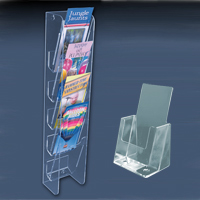 acrylic brochure catalog holders 200