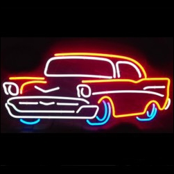 automotive neon signs 200