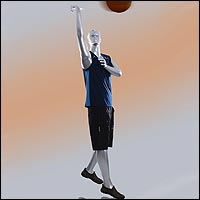 basketball player mannequins kid and adult 200