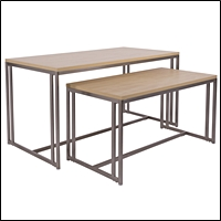 boutique style nesting tables 200