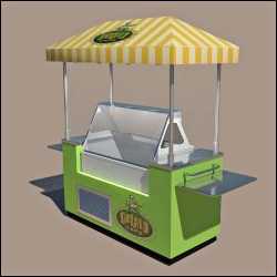 food and beverage push carts