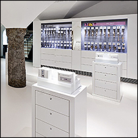 gallery of showcase examples in retail stores for wall floor and aisle 200 1